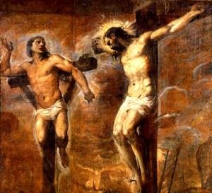 Tiziano Vecellio, Gesù e il buon ladrone