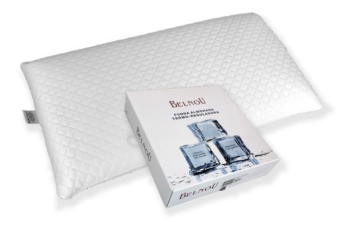 Funda de almohada efecto hielo con viscogel -Bonitex