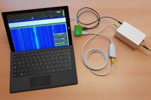 operar el KiwiSDR directamente en Microsoft Surface.