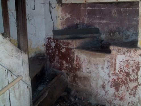 ancien évier boniveau