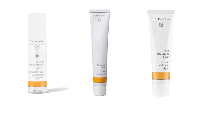 Dr Hauschka German beauty products rose day cream cleansing treatment