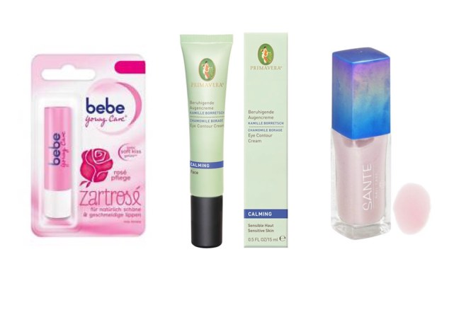 german cosmetics organic beauty products bebe rose lip balm primavera eye cream sane nail polish