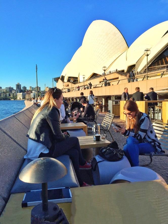 sydney australia travel guide opera house sunset harbour bridge opera bar