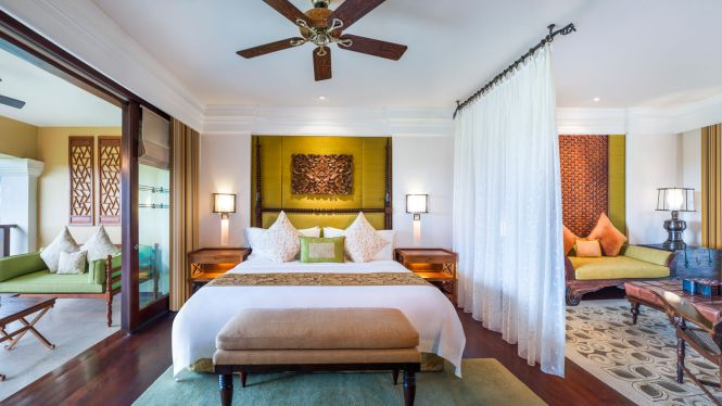 St.Regis Bali Suite Bedroom
