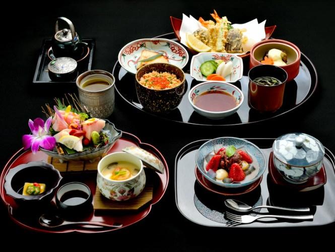Okura Prestige Bangkok kaiseki set