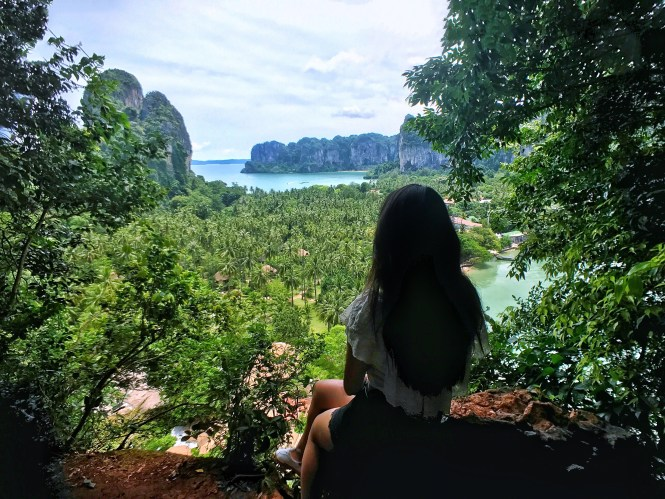 railay beach hiking krabi thailand