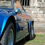 Berlinette Alpine Renault A 110 bleue