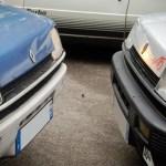 Une Renault 5 TL face à une Renault 5 Alpine Atmo