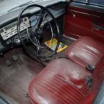 Intérieur de la Fiat 1500