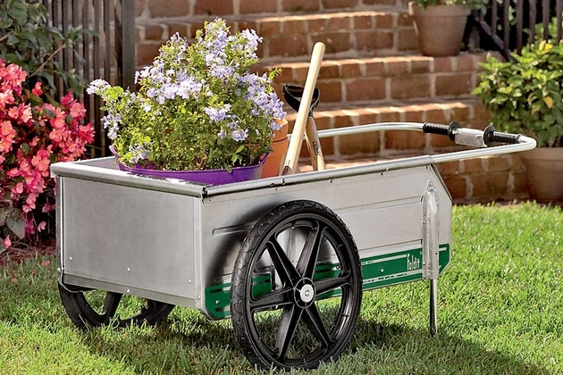 Fold It Garden Utility Cart
