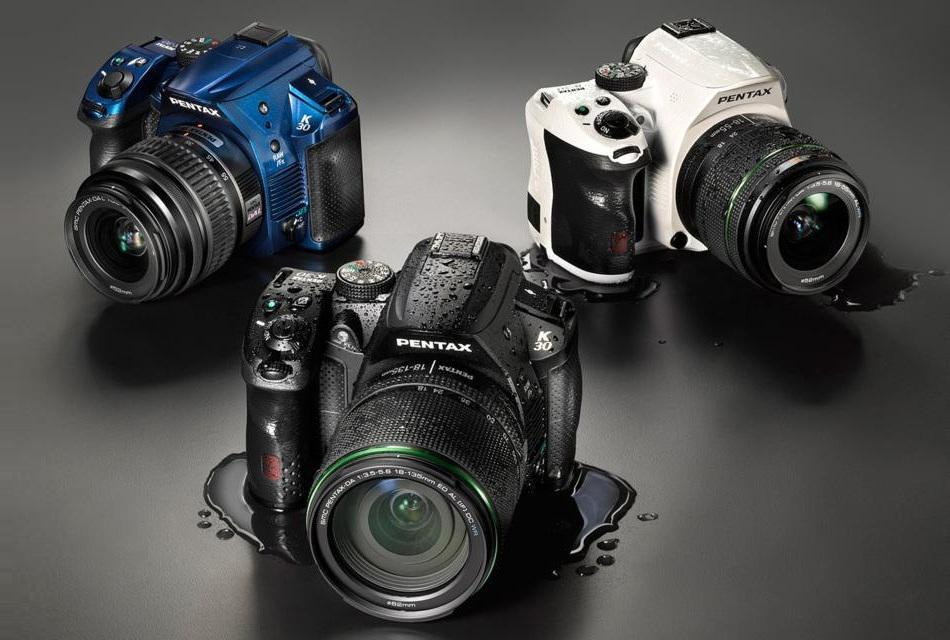 PENTAX K-30 Digital SLR Weather Resistant Camera