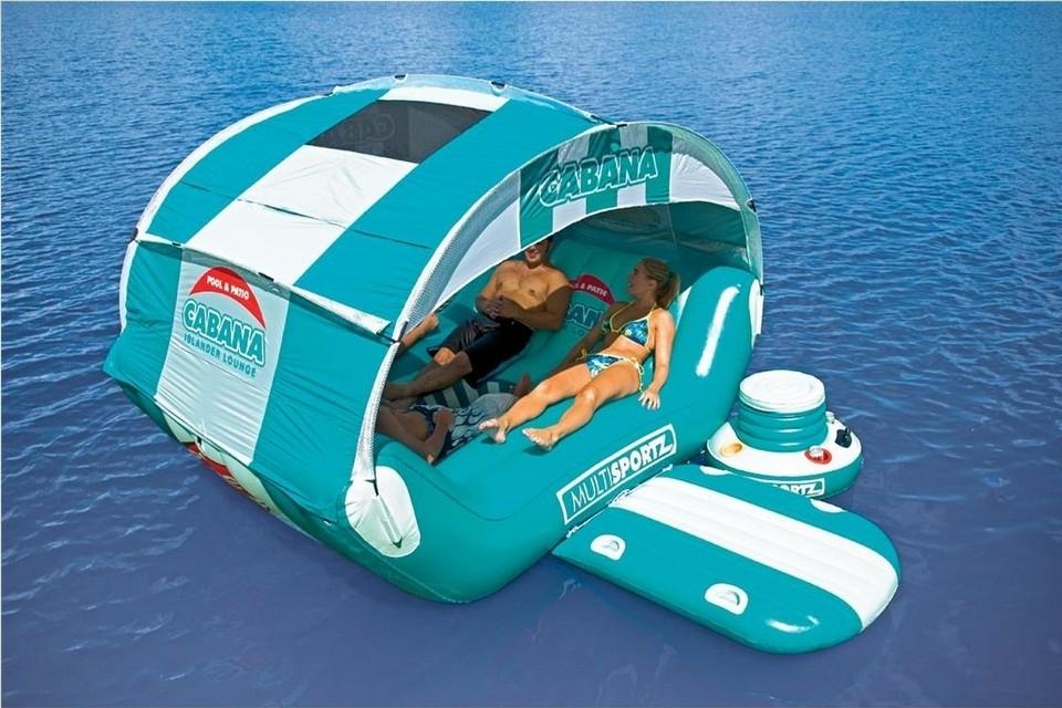 Sportsstuff Cabana Islander floating lounge
