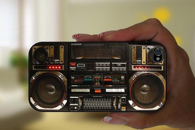 Boombox Ghetto Blaster iPhone 5 Case