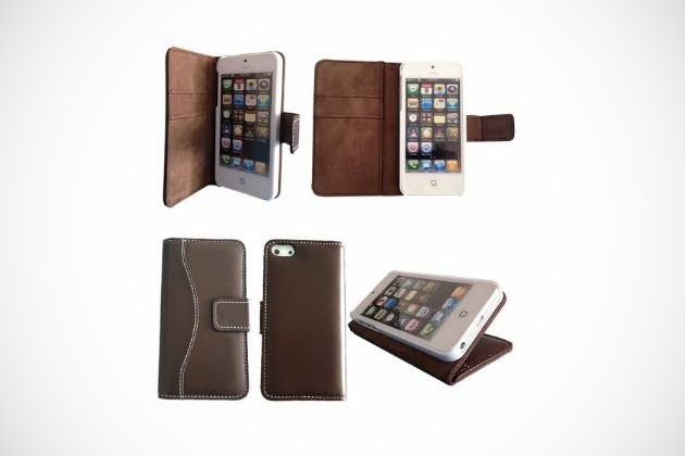 Lambskin Leather Case for iPhone 5 (2)