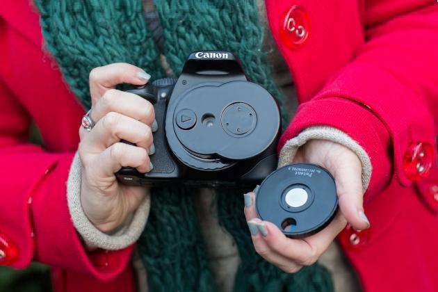 DSLR Lens Wheel of Filters