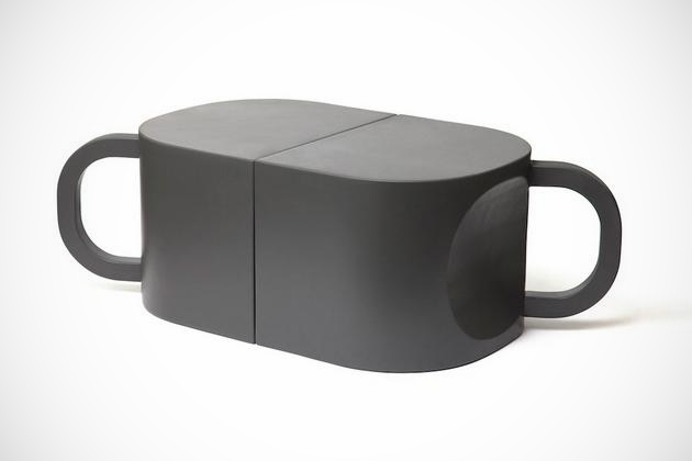 Flip-coffeecup Chair / Table