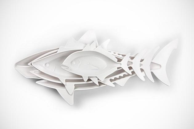 Fish-Shaped Food Nesting Dishes (1)