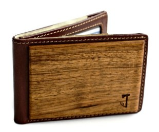 Zebrawood Bifold Wallet