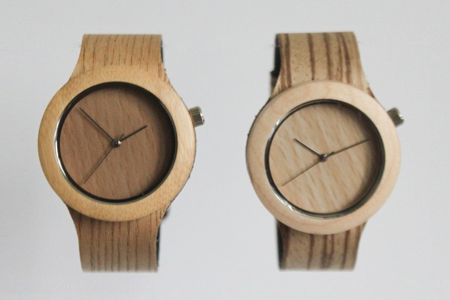 All Natural Wood Watch With Soft Strap (3)