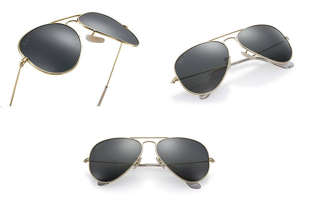 Ray-Ban Aviator Solid Gold (3)