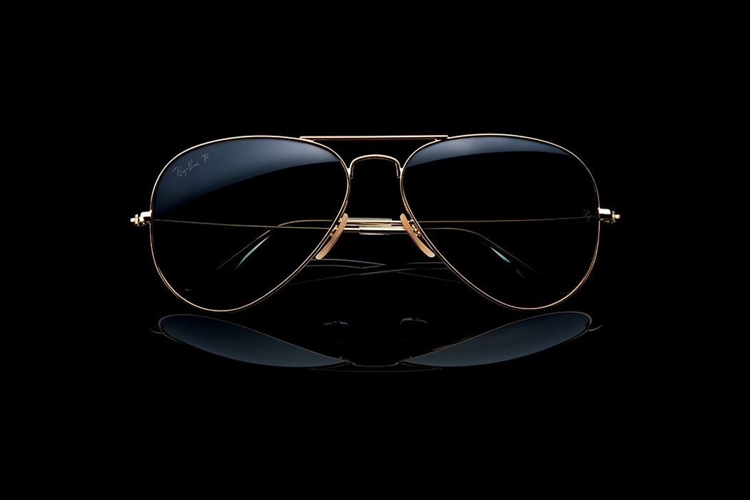 Ray-Ban Aviator Solid Gold (1)