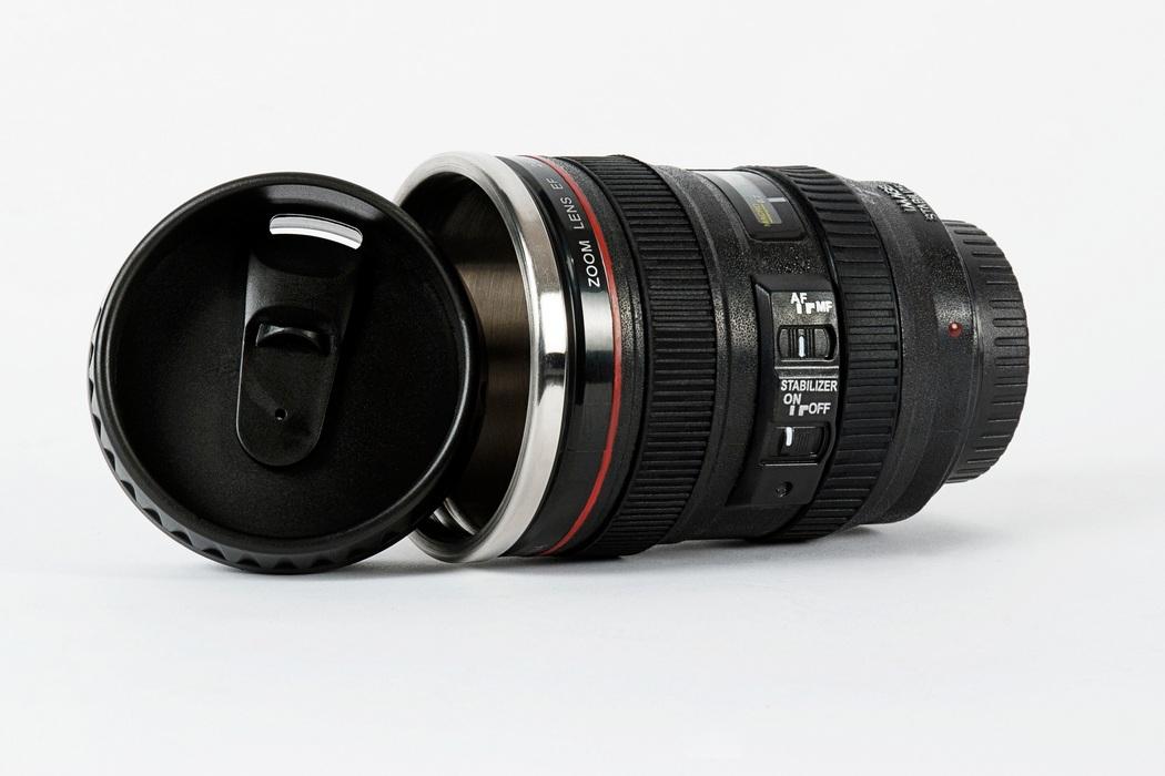 DSLR Canon Camera Lens Coffee Tea Mug (2)