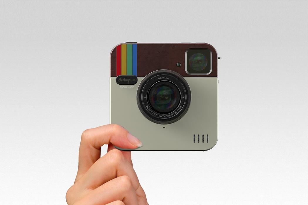 Polaroid Socialmatic Camera Concept (3)