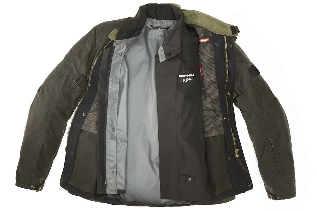 Spidi Worker Wax H2out Jacket (3)