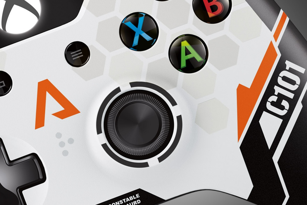 Xbox One Titanfall Wireless Controller (3)
