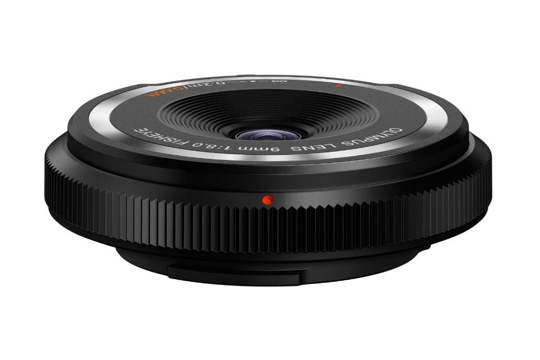 Olympus 9mm F8 Fisheye Body Cap Lens