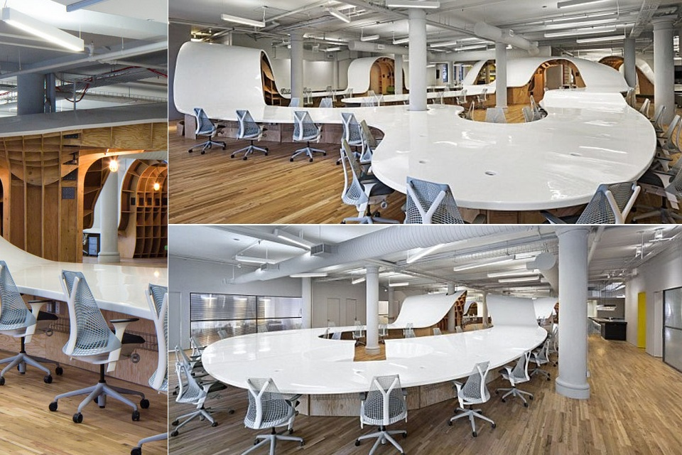 The Superdesk Comfortably Seats 125 People
