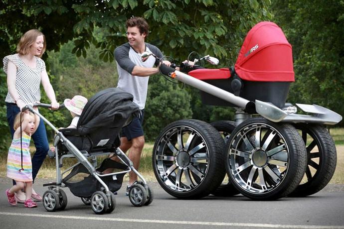 VRS Mega Man Pram Baby Stroller (5)
