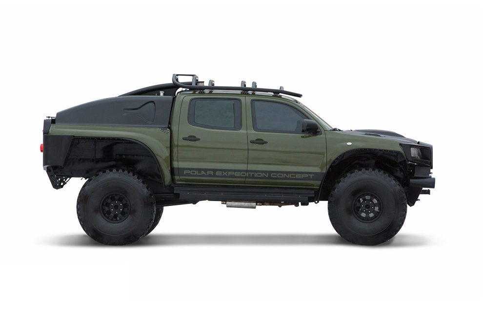 2010 Toyota Tacoma Polar Expedition Truck0