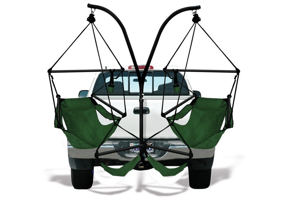 Hammaka - Trailer Hitch Stand With Chairs Combo
