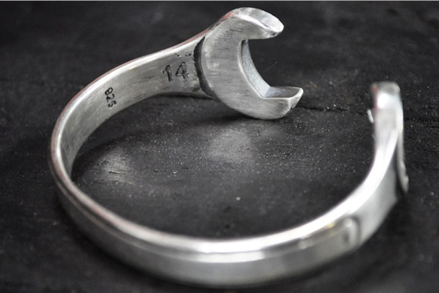 Silver Bracelet Wrench Spanner By Blitz Motorcycles