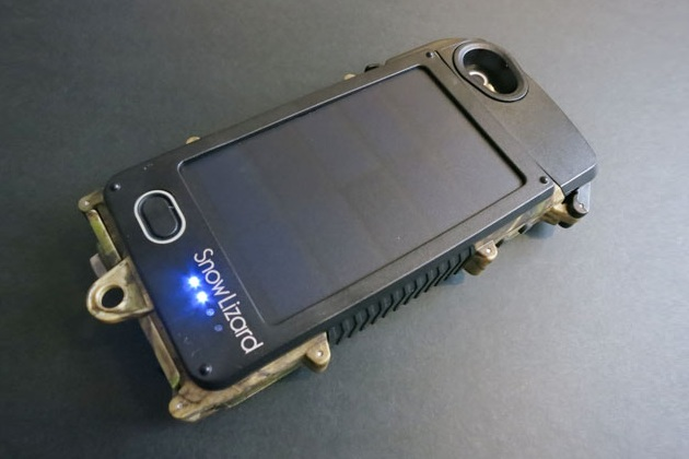 Waterproof iPhone 5 Solar Case Charger