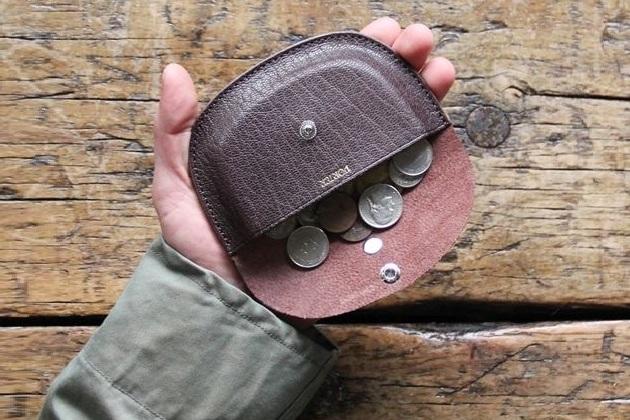 Kaptain Sunshine Porter & Co Round Wallet
