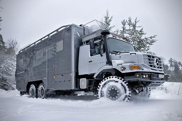 Mercedes-Benz Zetros 6x6 Expedition Vehicle