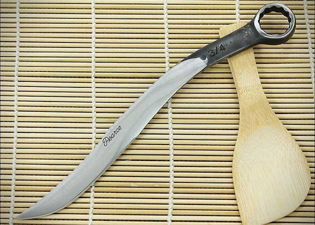 Pearce Logan Presents Hand-forged Knives out of Tools
