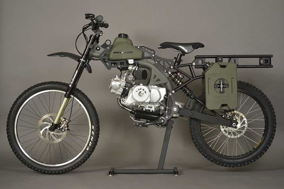 Motoped Survival Bike (4)