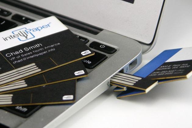 Swivel Business Card USB (2)