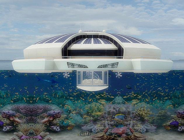 The Luxury Solar Floating Island Resort (7)