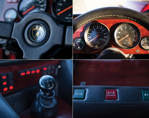 1989 Lamborghini LM002 on Auction