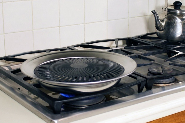 The Original Stove Top Grill For Indoor BBQ