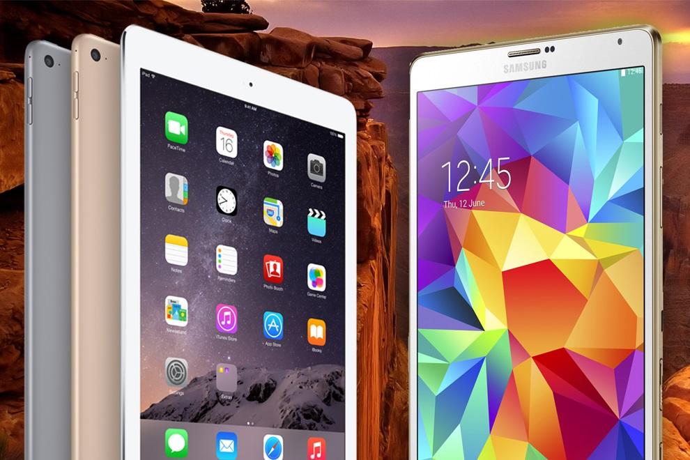 Best Tablet of 2015 - iPad Air 2 vs Samsung Galaxy Tab S (4)