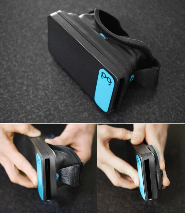 Moggles Virtual Reality Headset for Smartphones (4)