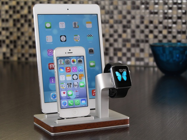 Premium One All in One Dock for Apple Watch & iPhone (8)