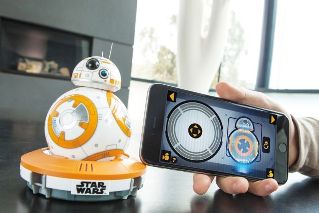 Sphero Star Wars BB-8 App-Enabled Droid Toy (7)
