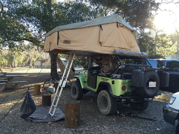 Overland Rooftop Camping Tent with Annex Room (6)