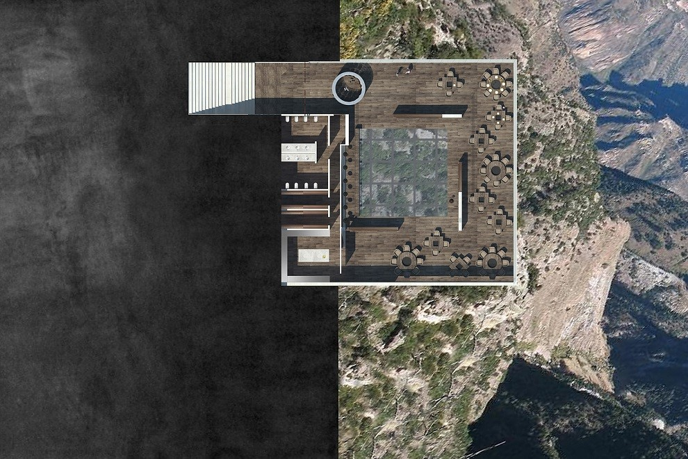 Luxury Cantilevered Restaurant Overhangs Mexico Copper Canyon (4)